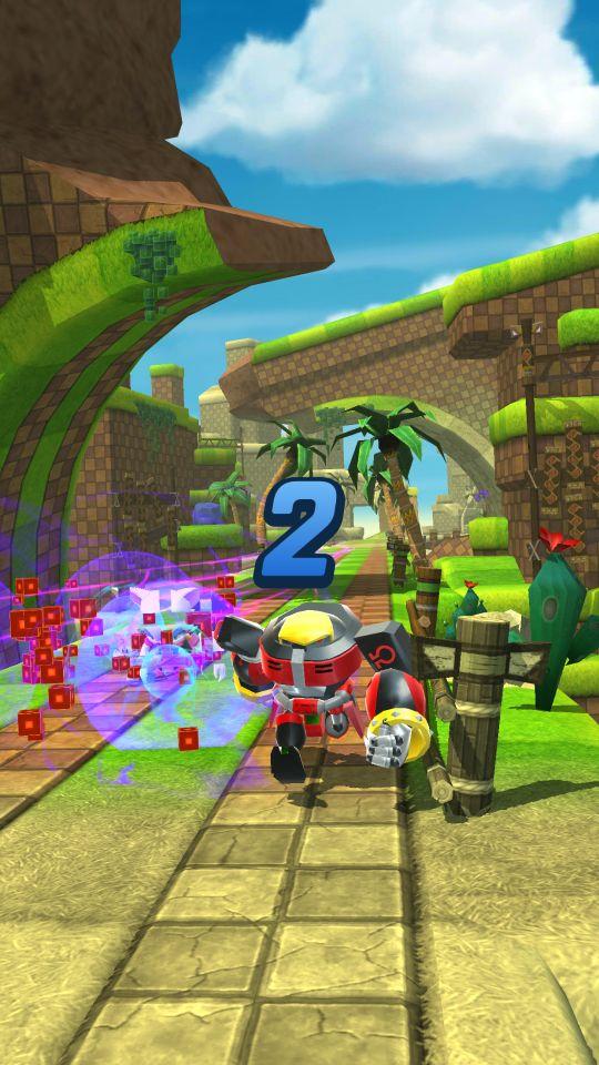 Sonic Forces: Speed Battle - Screenshots - Bild 6