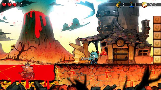 Wonder Boy: The Dragon's Trap - Screenshots - Bild 7