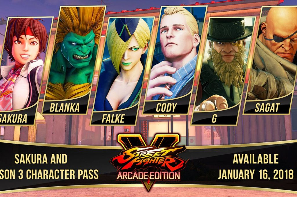 Street Fighter 30th Anniversary Collection angekündigt, Details zu Street Fighter V