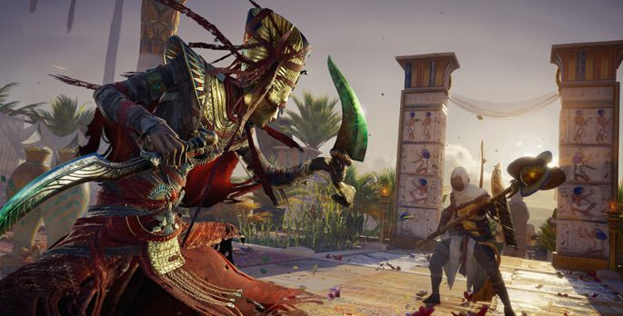 Assassin's Creed Origins: Curse of the Pharaos - Test