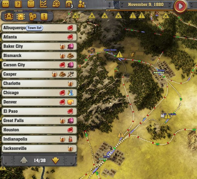 Railway Empire - Screenshots - Bild 1