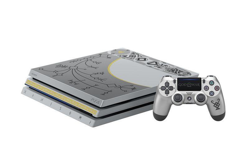 God of War - Sony stellt eine limitierte PS4 Pro-Konsole vor