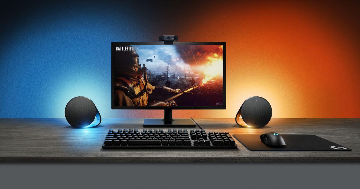 Logitech G560 Lightsync PC Gaming Lautsprecher: Klangstarke 2.1 ...