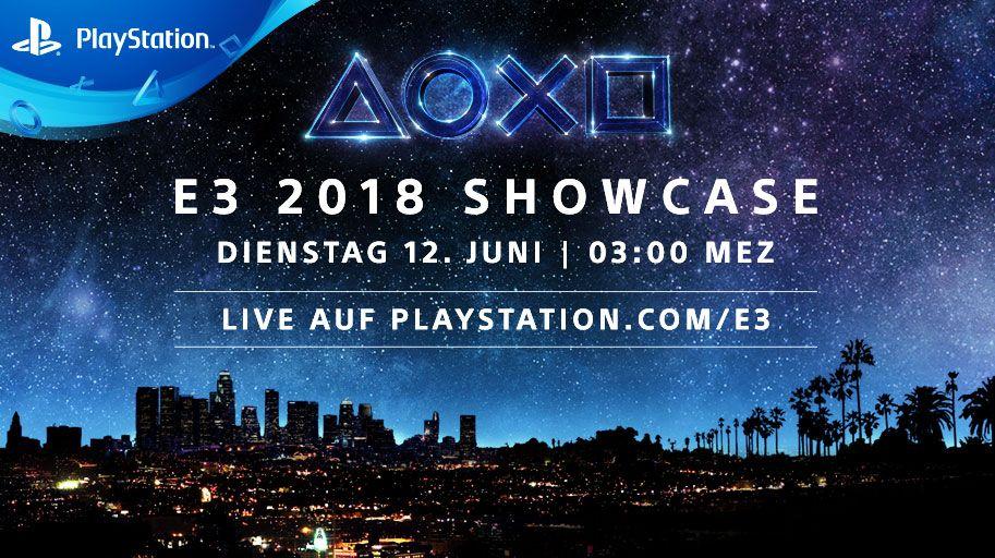 PlayStation - Termin & Inhalt von E3-Pressekonferenz bekanntgegeben