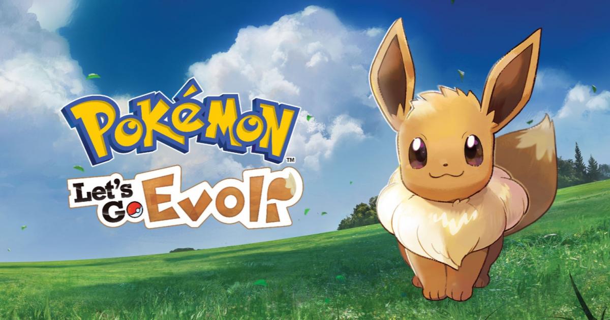 Pokémon Lets Go Pikachu Evoli übersicht Gameswelt