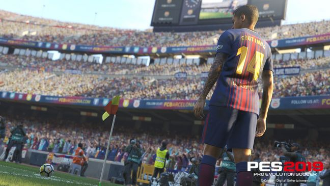 Pro Evolution Soccer 2019 - Screenshots - Bild 1