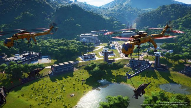 Jurassic World Evolution - Screenshots - Bild 1