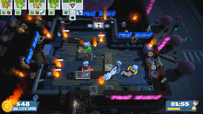 Overcooked 2 - Screenshots - Bild 1