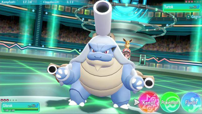 Pokémon Let's Go Pikachu / Evoli - Screenshots - Bild 1