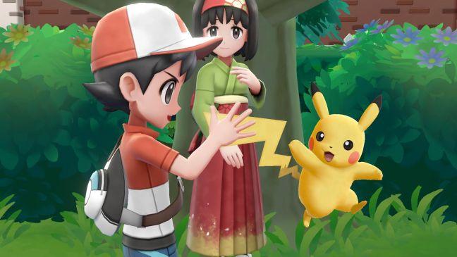 Pokémon: Let's Go, Pikachu! / Evoli! - Screenshots - Bild 1