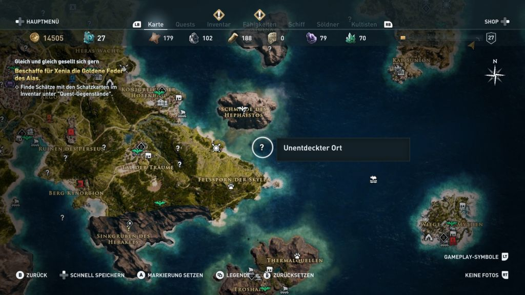 Assassin S Creed Odyssey Komplettlosung Guide Fur Alle Quests
