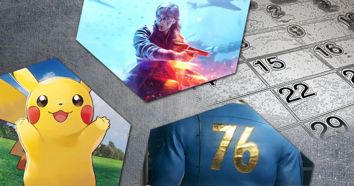 Release Vorschau Die Spiele Im November 2018 21 Bis 30