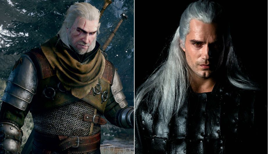 the witcher netflix erstes bild so sieht henry cavill. Black Bedroom Furniture Sets. Home Design Ideas
