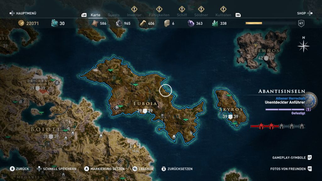 Assassin S Creed Odyssey Karte.Assassin S Creed Odyssey Komplettlösung Guide Für Alle Quests
