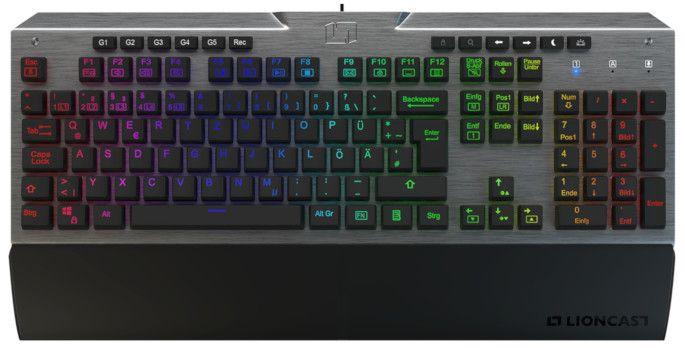 Lioncast LK 300 Pro RGB Gaming Tastatur