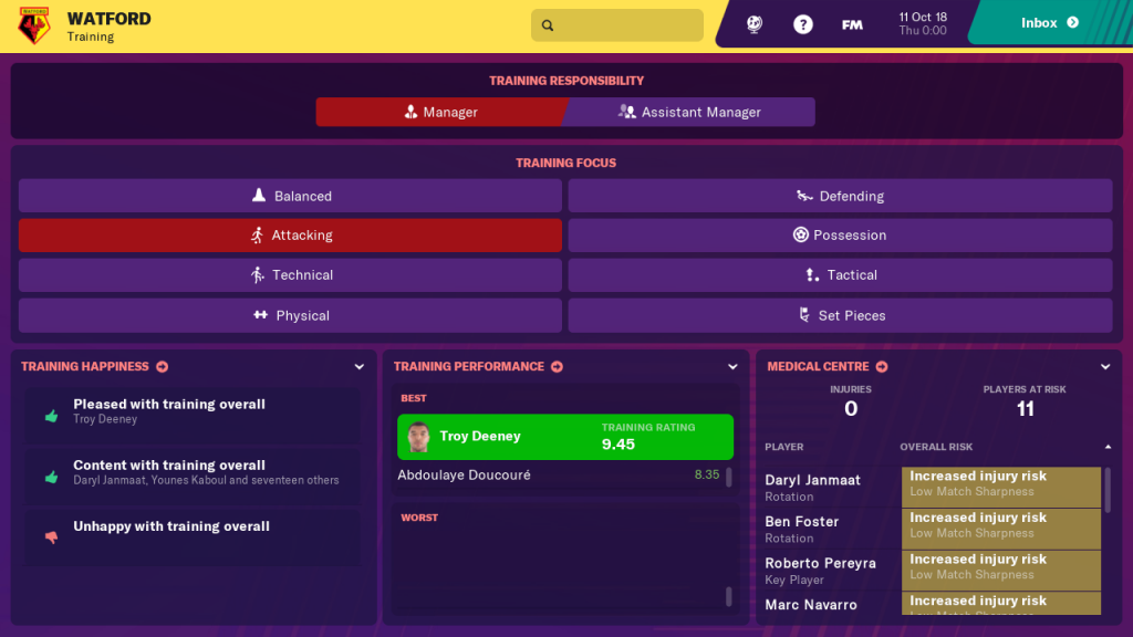 Football Manager 2019 Touch 17 Bilder Aus Der Switch
