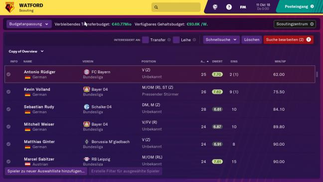 Football Manager 2019 Touch - Screenshots - Bild 5