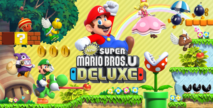 New Super Mario Bros. U Deluxe - Test