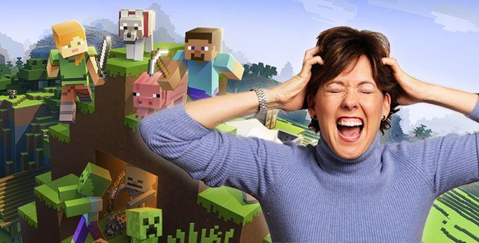 Minecraft macht die Mutti fertig - Special