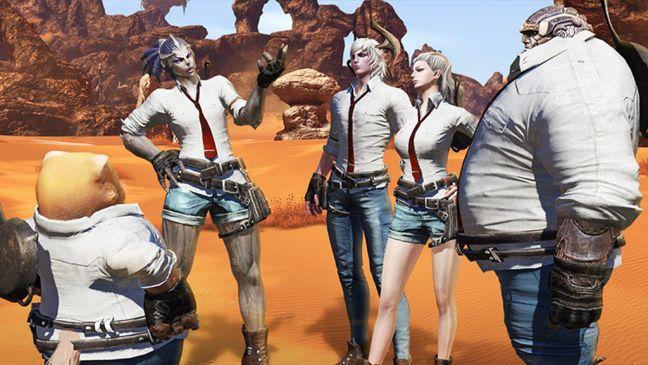 TERA x PUBG - Screenshots - Bild 1