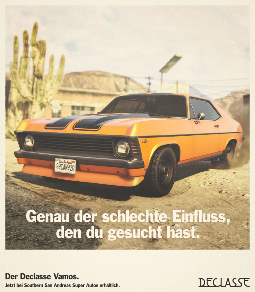 gta online: neues muscle-car: sichert euch den declasse vamos