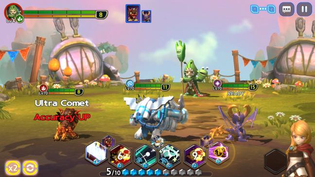 Skylanders Ring of Heroes - Screenshots - Bild 5