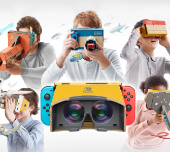 Nintendo Labo: Toy-Con 04: VR-Set - Test