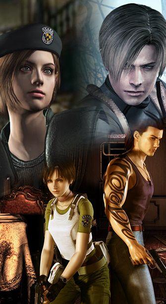 Resident Evil Remake, Zero & 4 - Test