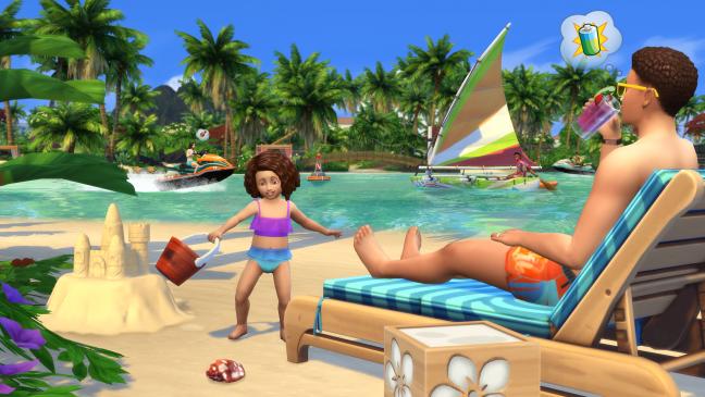 Die Sims 4: Inselleben - Screenshots - Bild 1