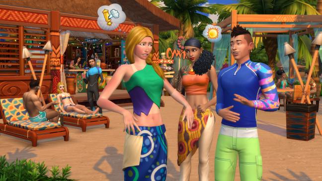 Die Sims 4: Inselleben - Screenshots - Bild 4