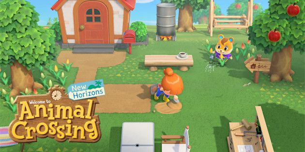 Animal Crossing: New Horizons - Screenshots - Bild 1