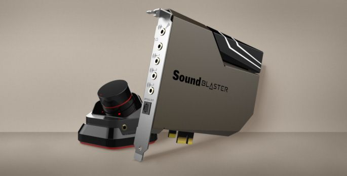 Sound Blaster AE-7 - Test