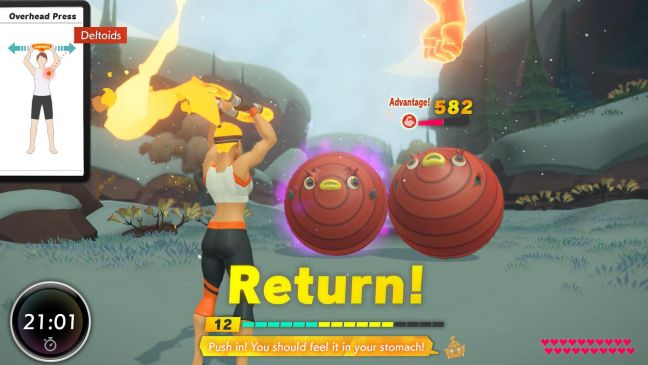 Ring Fit Adventure - Screenshots - Bild 2