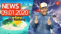 Gameswelt News 09.01.2020 - Mit Pokémon und Magic Legends
