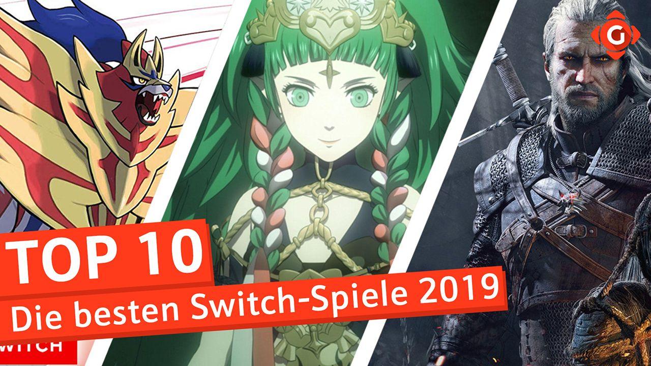 Top 10 - Switch-Spiele 2019
