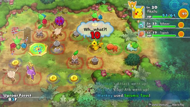 Pokémon Mystery Dungeon: Rescue Team DX - Screenshots - Bild 12