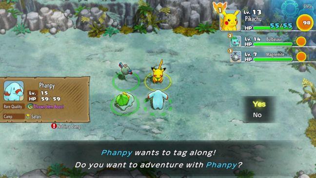 Pokémon Mystery Dungeon: Rescue Team DX - Screenshots - Bild 7