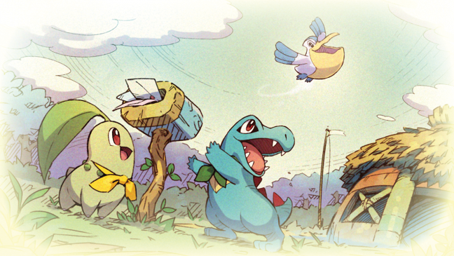 Pokémon Mytersy Dungeon: Rescue Team DX - Artworks - Bild 6