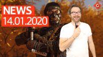 Gameswelt News 14.01.2020 - Mit Sony, Final Fantasy VII Remake und Marvel's Avengers