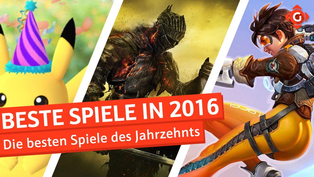 Die besten Spiele des Jahrzehnts - Top 10 Spiele aus 2016