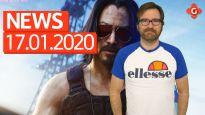 Gameswelt News 17.01.2020 - Mit Cyberpunk 2077 und Baldurs Gate 3