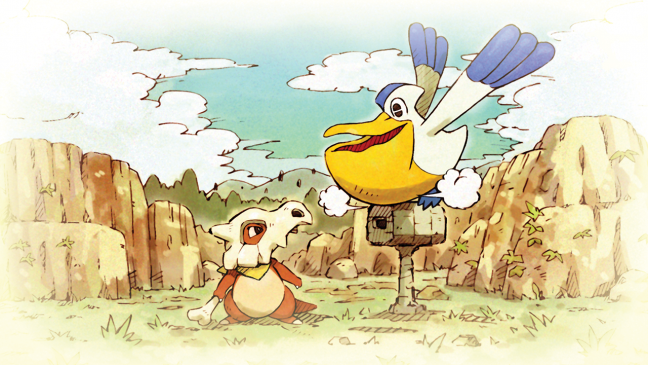 Pokémon Mytersy Dungeon: Rescue Team DX - Artworks - Bild 2