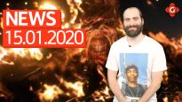 Gameswelt News 15.01.2020 - Mit Resident Evil 3 Remake, DOOM Eternal und Red Dead Online