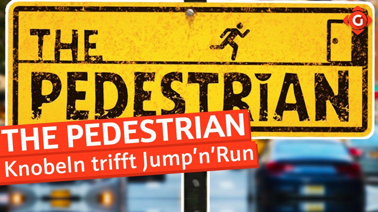 Knobelspaß trifft auf Jump'n'Run - Video-Review zu The Pedestrian