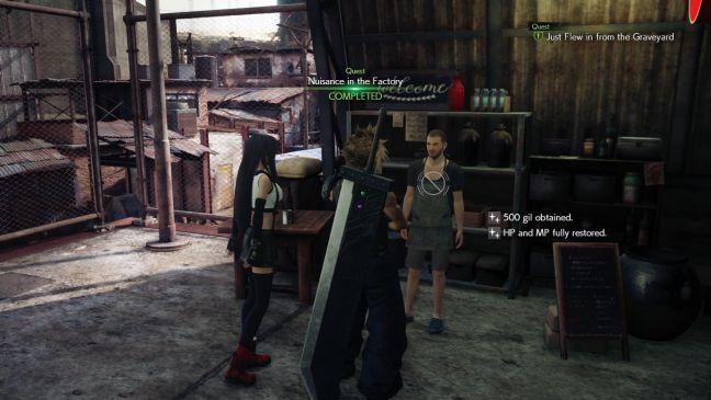 Final Fantasy VII Remake - Screenshots - Bild 14