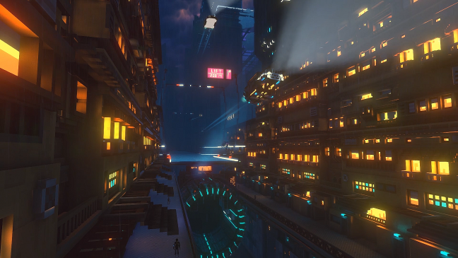 Cloudpunk - Screenshots - Bild 4