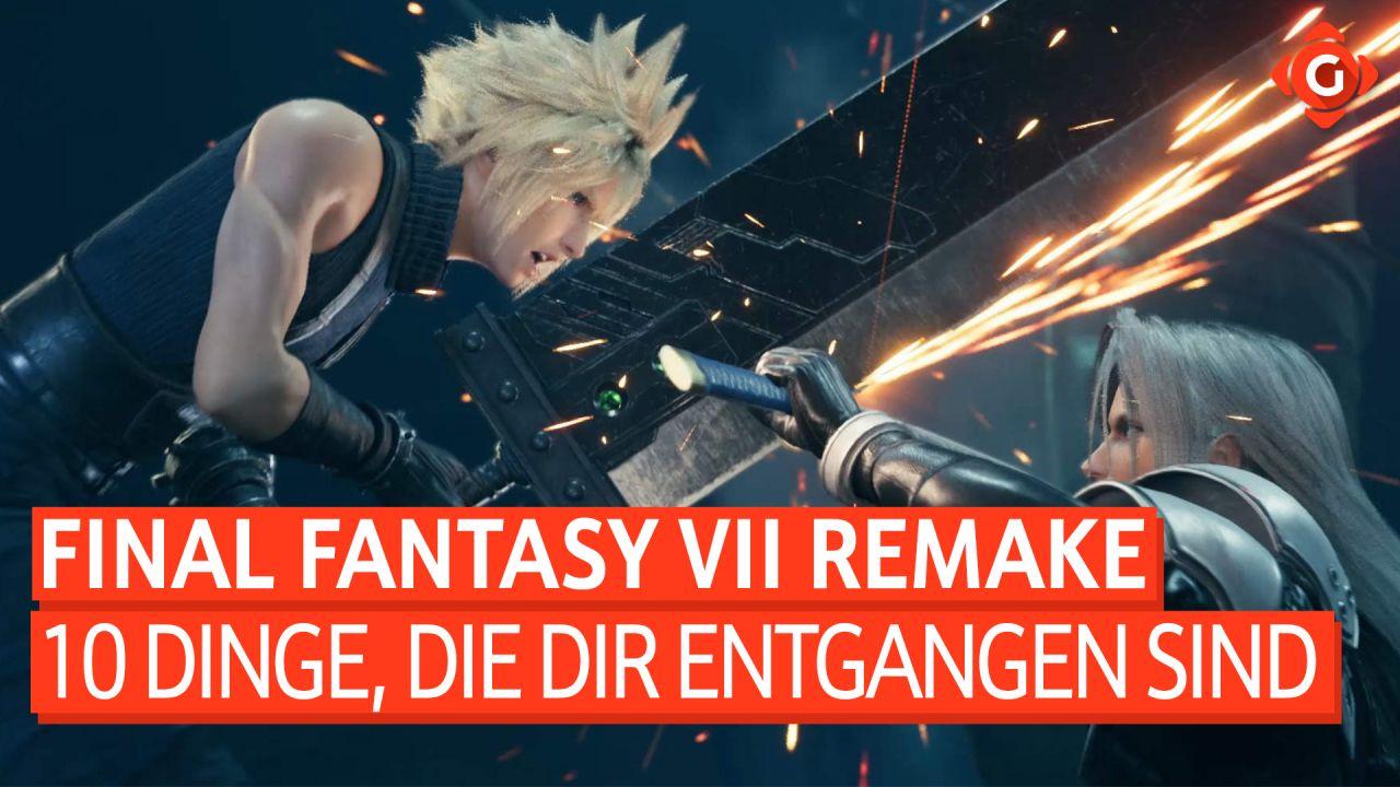 10 Dinge in Final Fantasy VII Remake - … die dir bestimmt entgangen sind