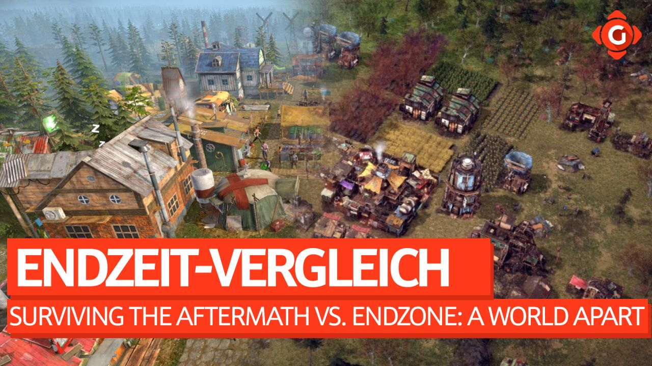 Der Endzeit-Vergleich - Surviving The Aftermath vs. Endzone: A World Apart