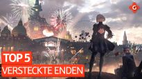 Top 5 - Abgefahrene versteckte Enden in Games