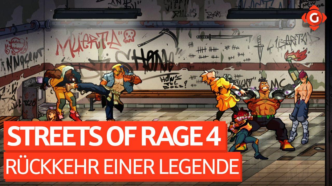 Eine Legende kehrt zurück! - Video-Review zu Streets of Rage 4